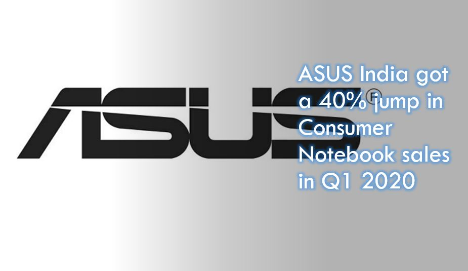 Asus India netbook Q1 sales growth