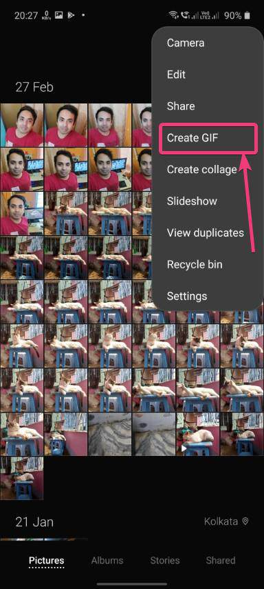 Create GIF