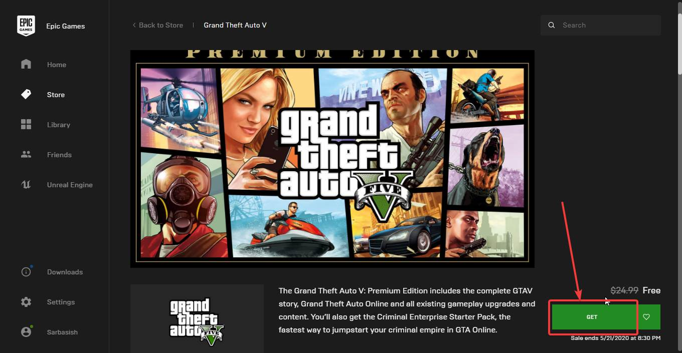 Download GTA V for free 60