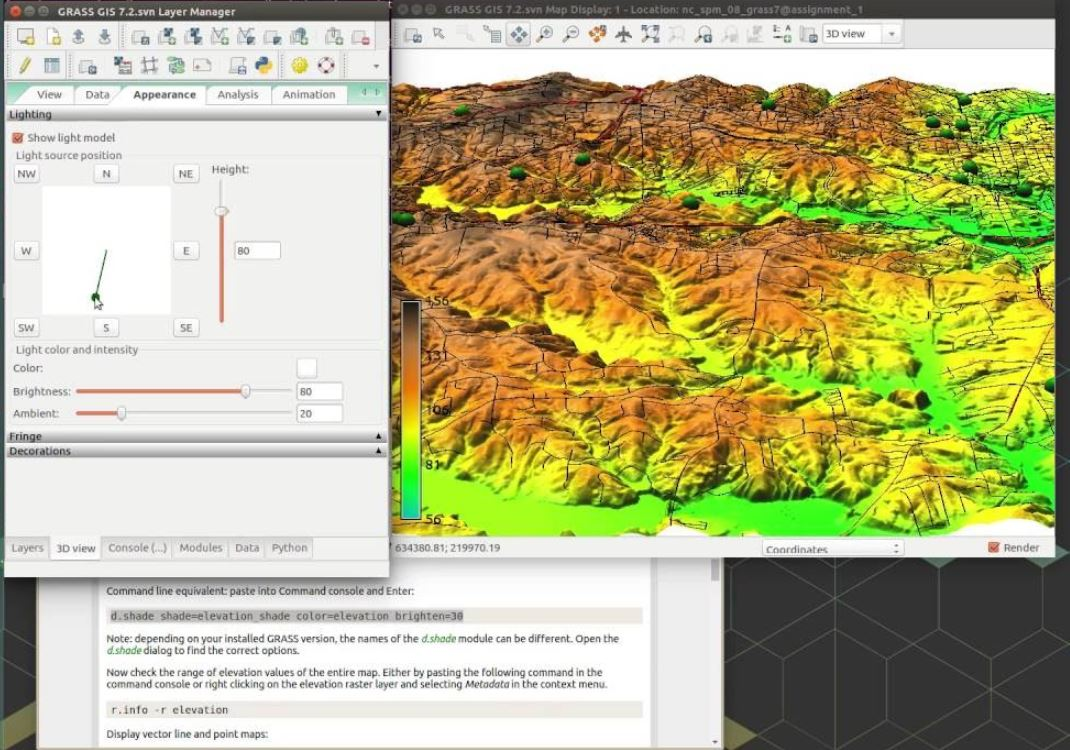 Grass GIS open source software