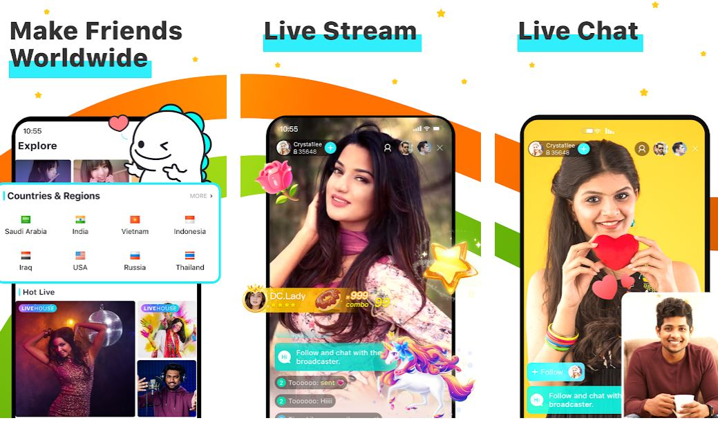 BIGO LIVE – Live Stream, Live Videro and Live Chat