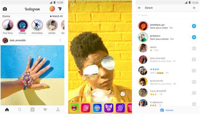 Instagram Social media app-min
