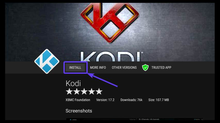 Install Kodi on Fire Stick 40 Small
