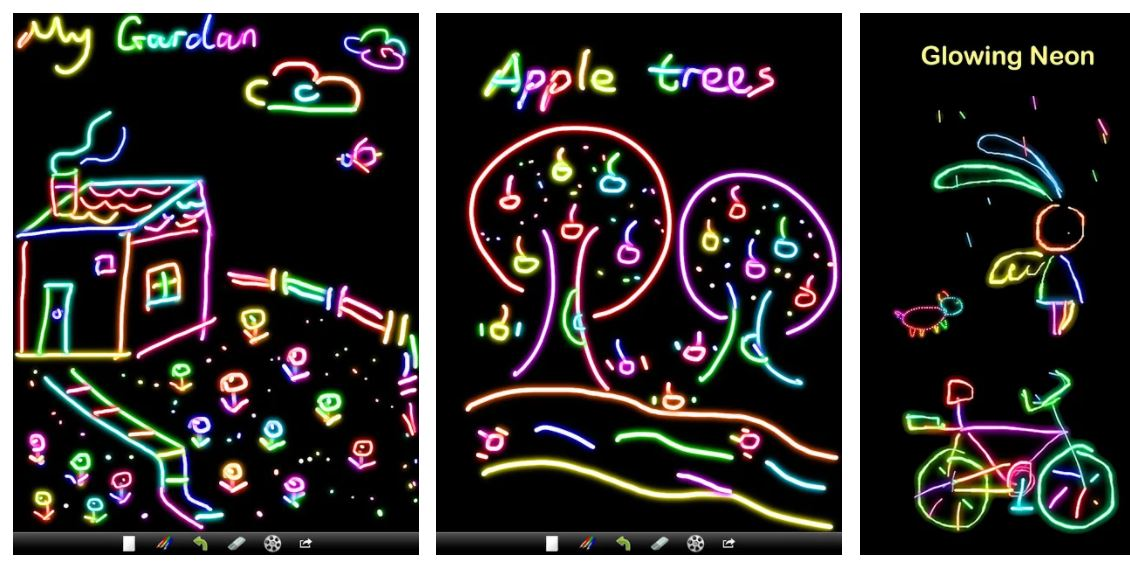 Kids Doodle Color Draw Free Game
