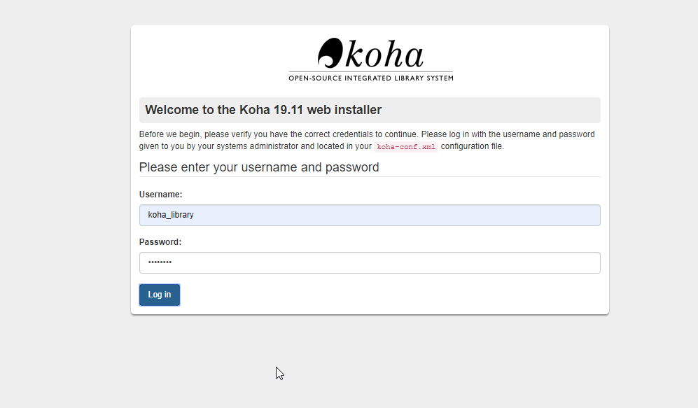 Koha Install Ubuntu 20.04