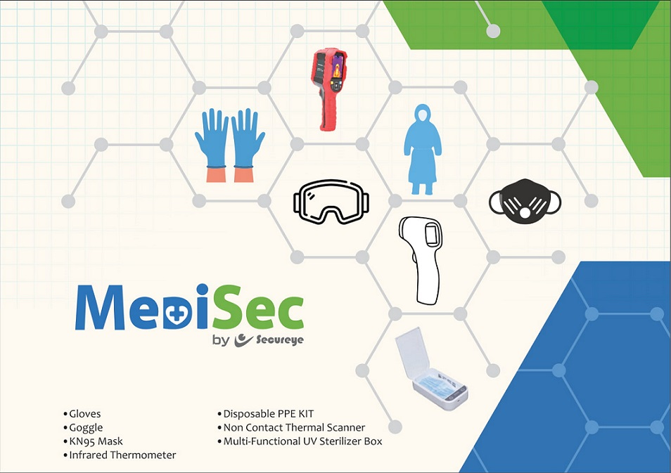 MediSec Medical equipment and kits