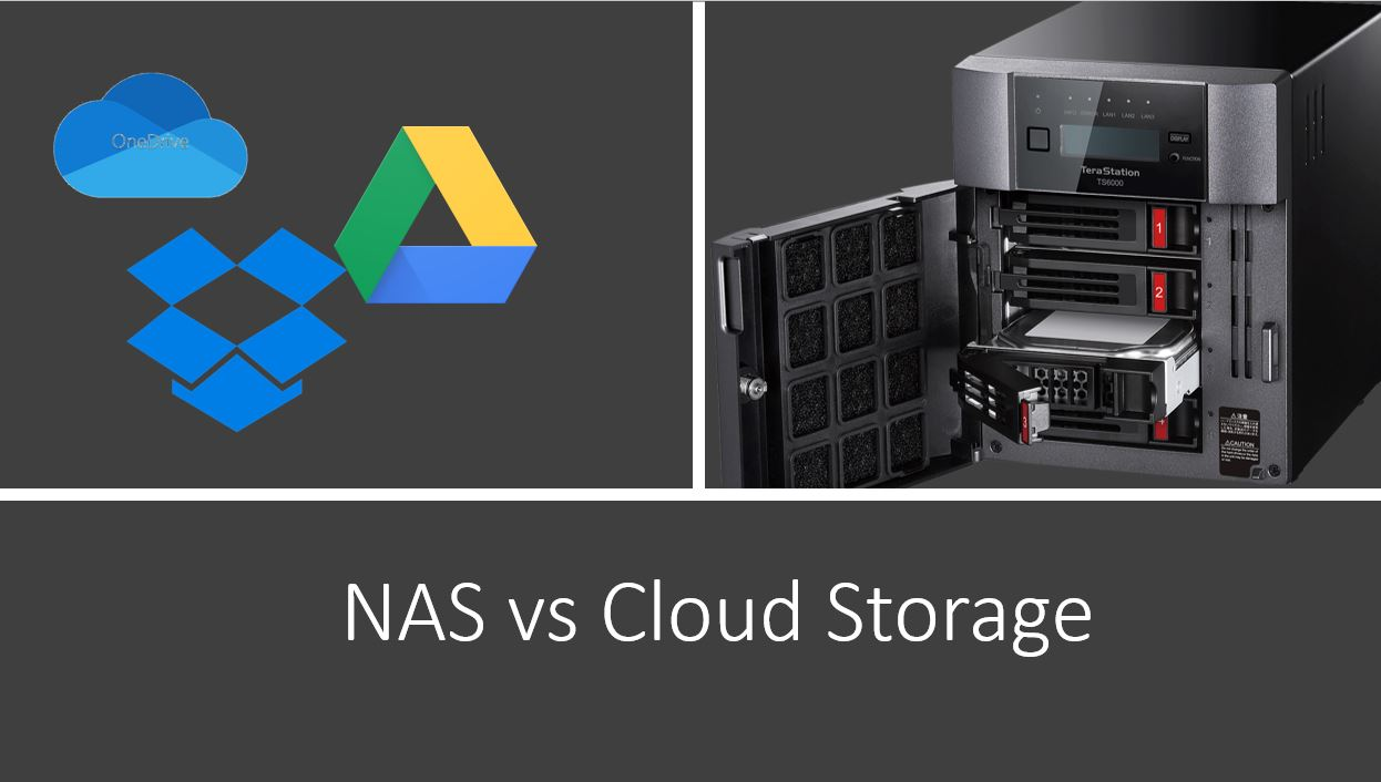 NAS vs Cloud storage