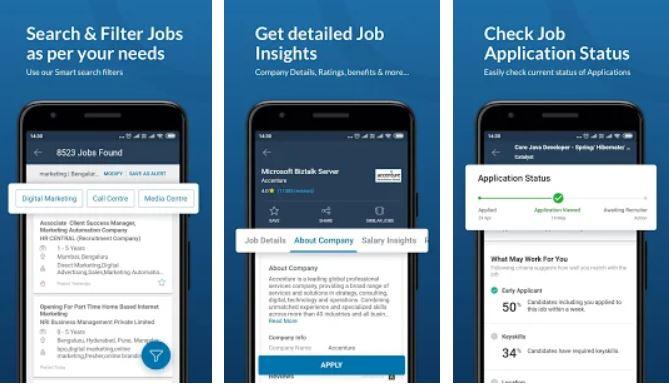 Naukri Job Search App