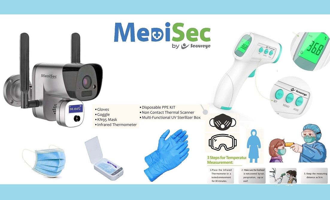 Secureye MediSec Covid saftery products