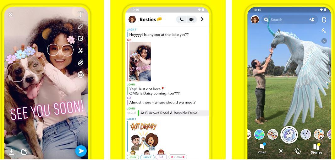 Snapchat top socila media app in India-min