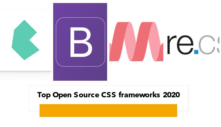 Top Open Source CSS frameworks 2020
