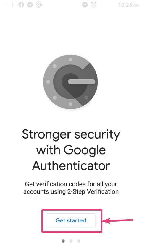 Setup Google Authenticator app on new phone