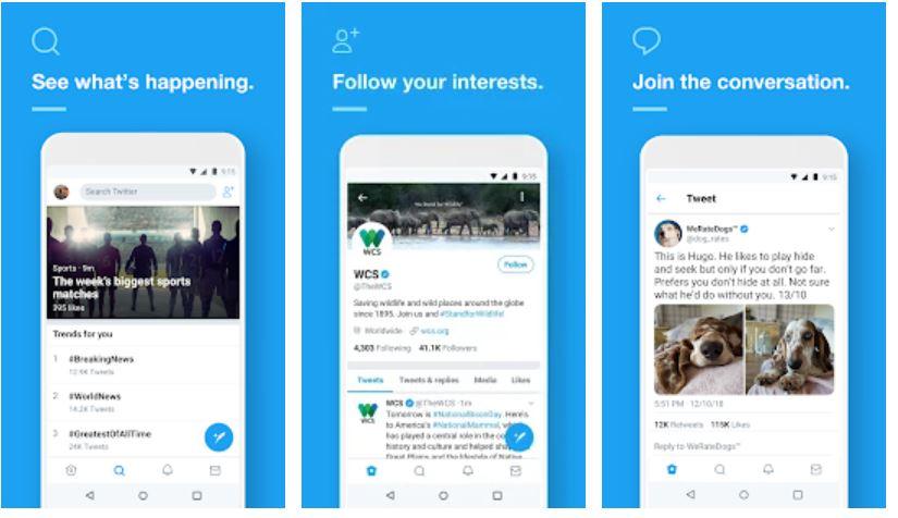 Twitter popular social media app in India-min