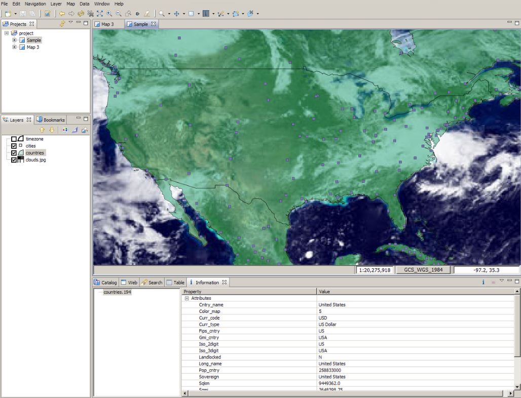 Udig GIS software-min
