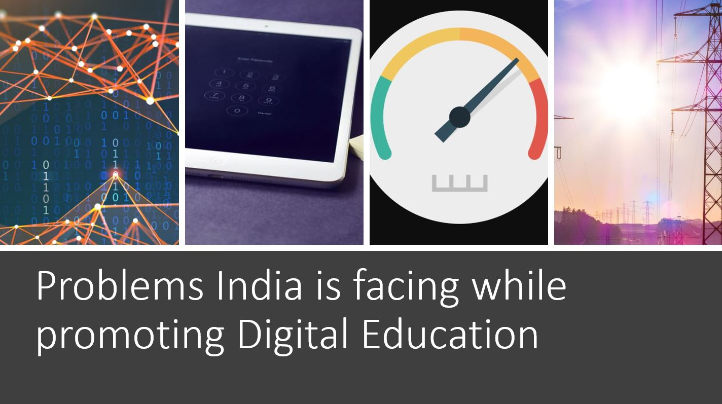 challenges of digital education in India