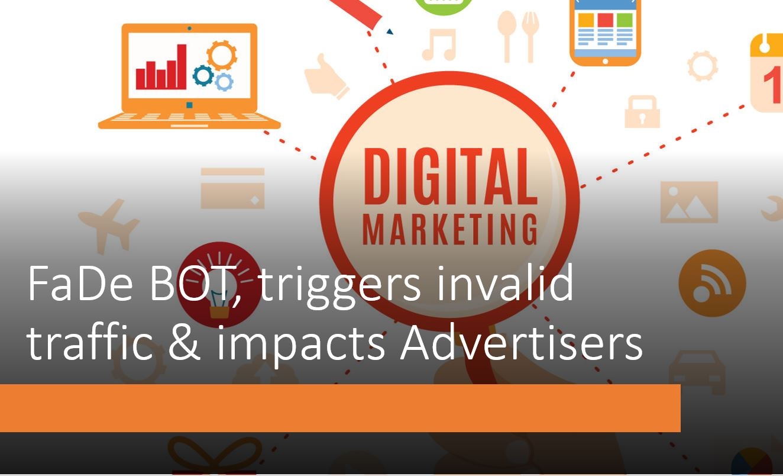 mFilterIt identifies FaDe BOT, triggers invalid traffic & impacts advertisers