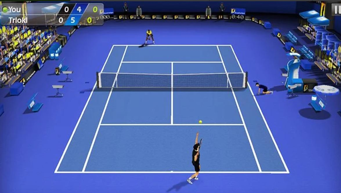 3D Tennis sport game for 2020 min