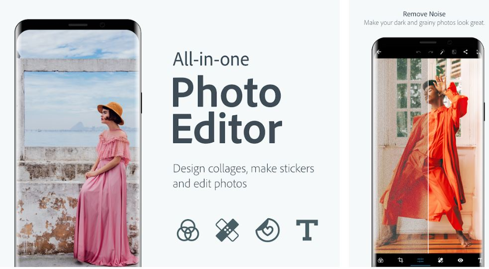 Adobe Photoshop Express app for Android