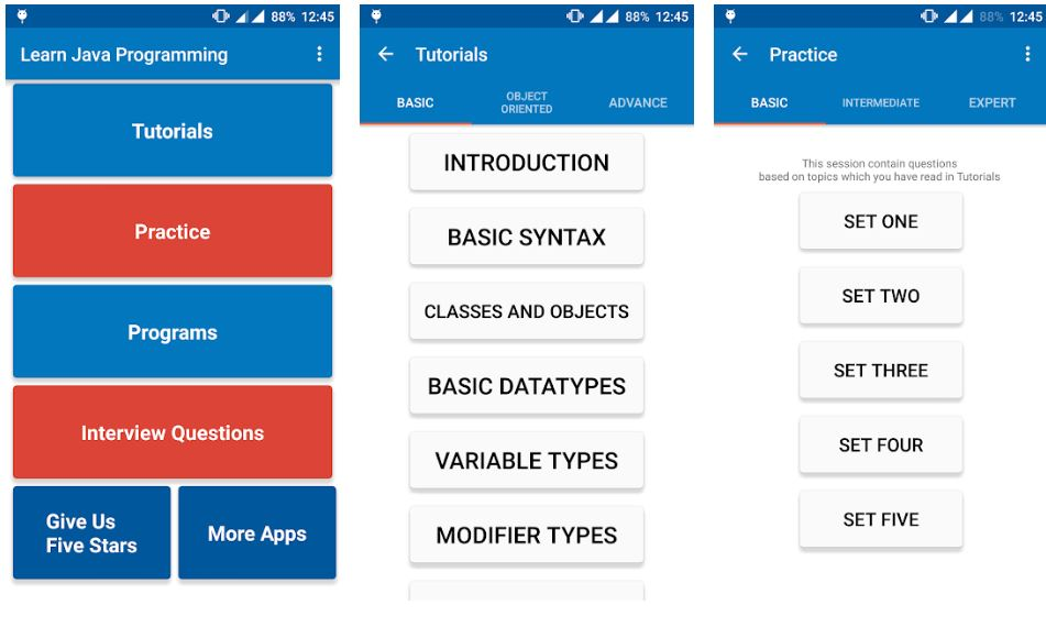 Android App for Java Beginners min
