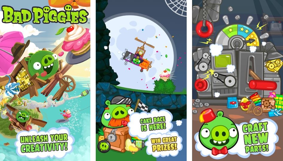 Bad Piggies best androdi offline game min