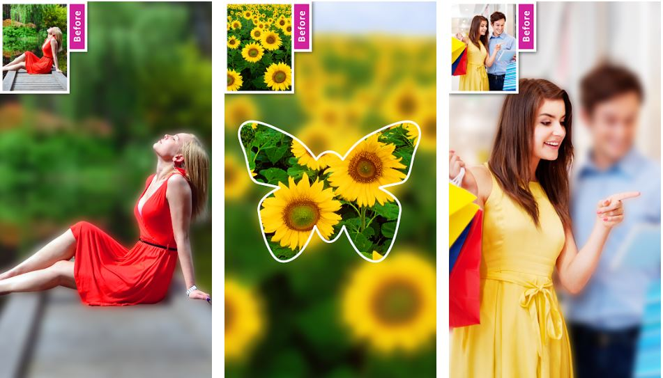 DSLR Image Blur app for Android
