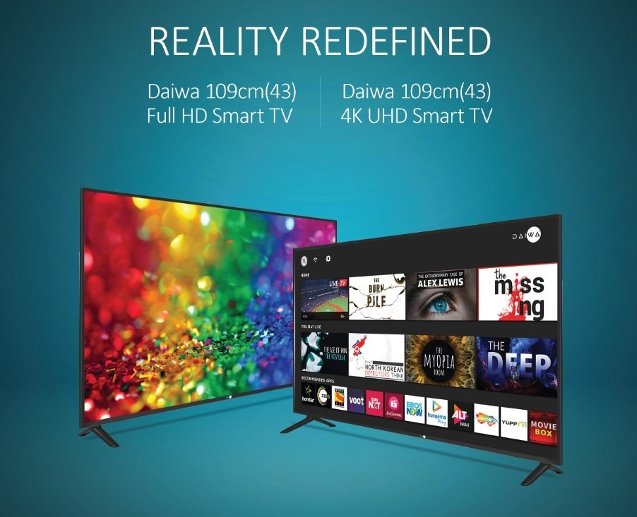 Daiwa partnerships with Dbx-tv for 4K TVs,