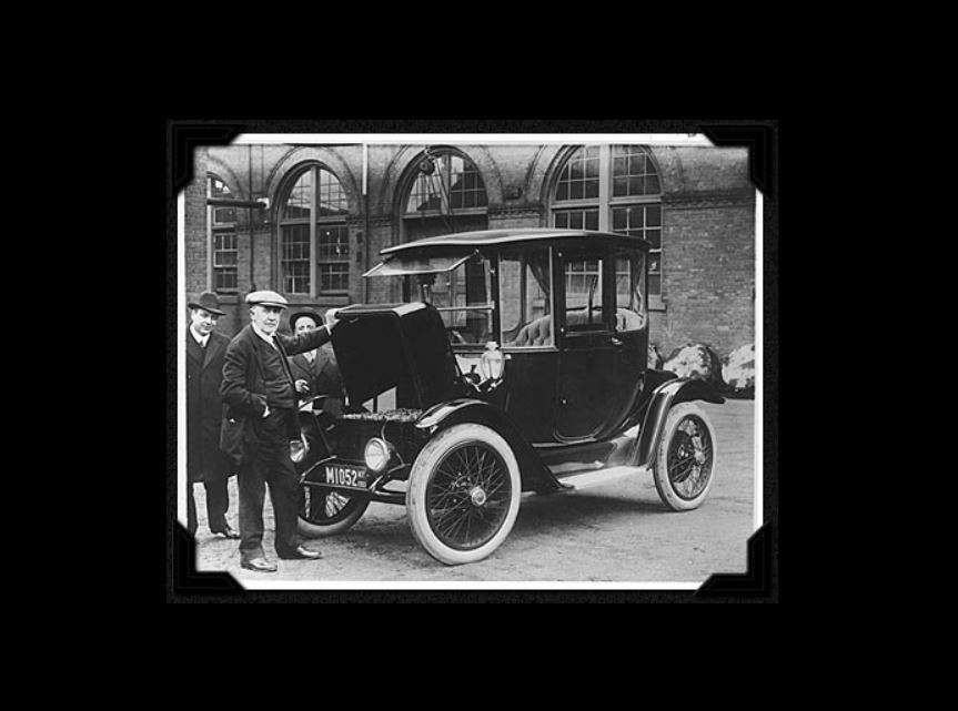 Edison and a 1914 Detroit Electric model 47