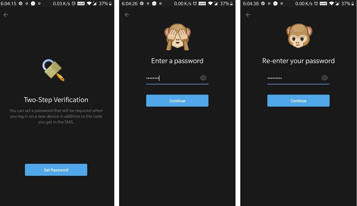 Enabel Telegram Two strep verification min