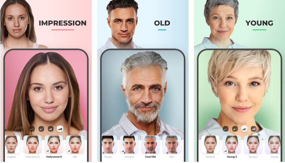 FaceApp AI Face Editor Android