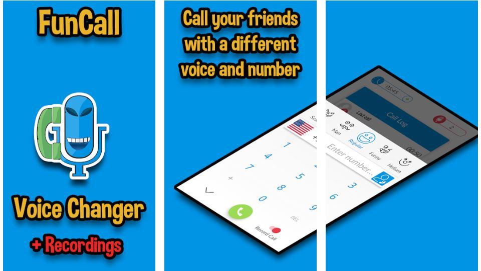 Funcalls Voice Changer Call Recording min