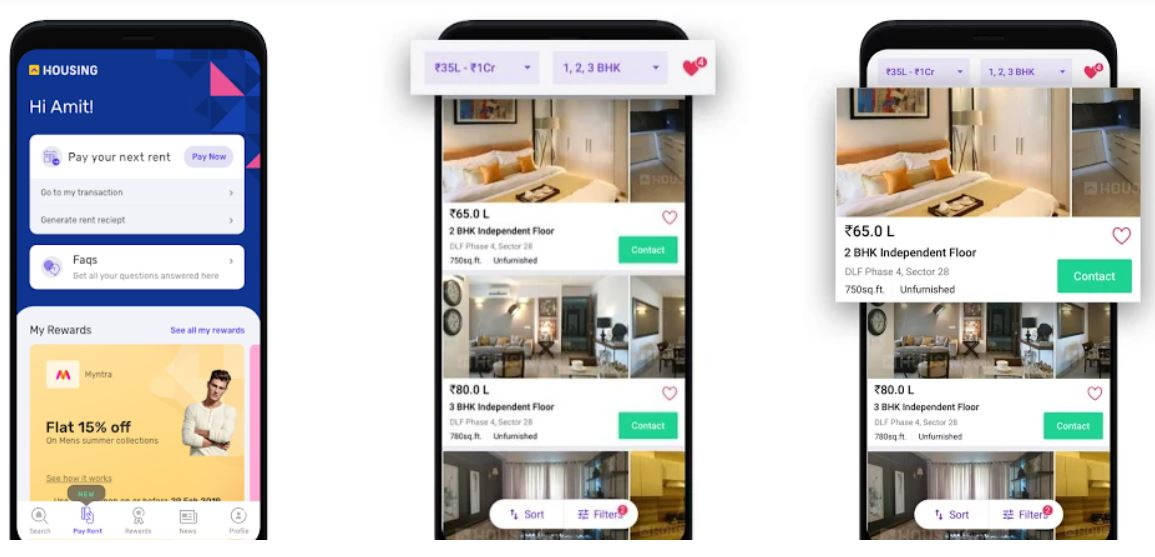 Housing Property Search Real Estate best Android App
