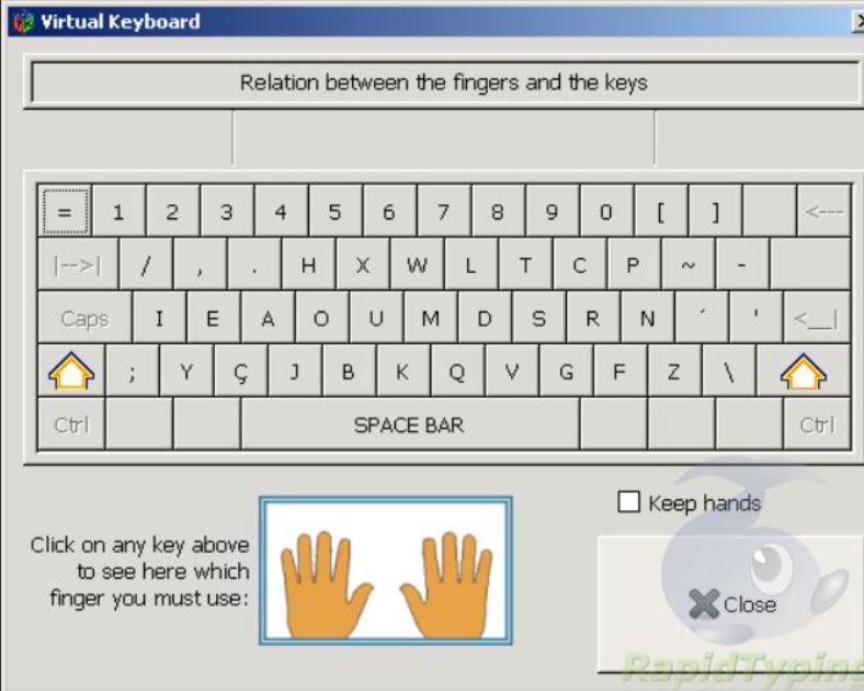 Klavaro best Touch Typing Tutor