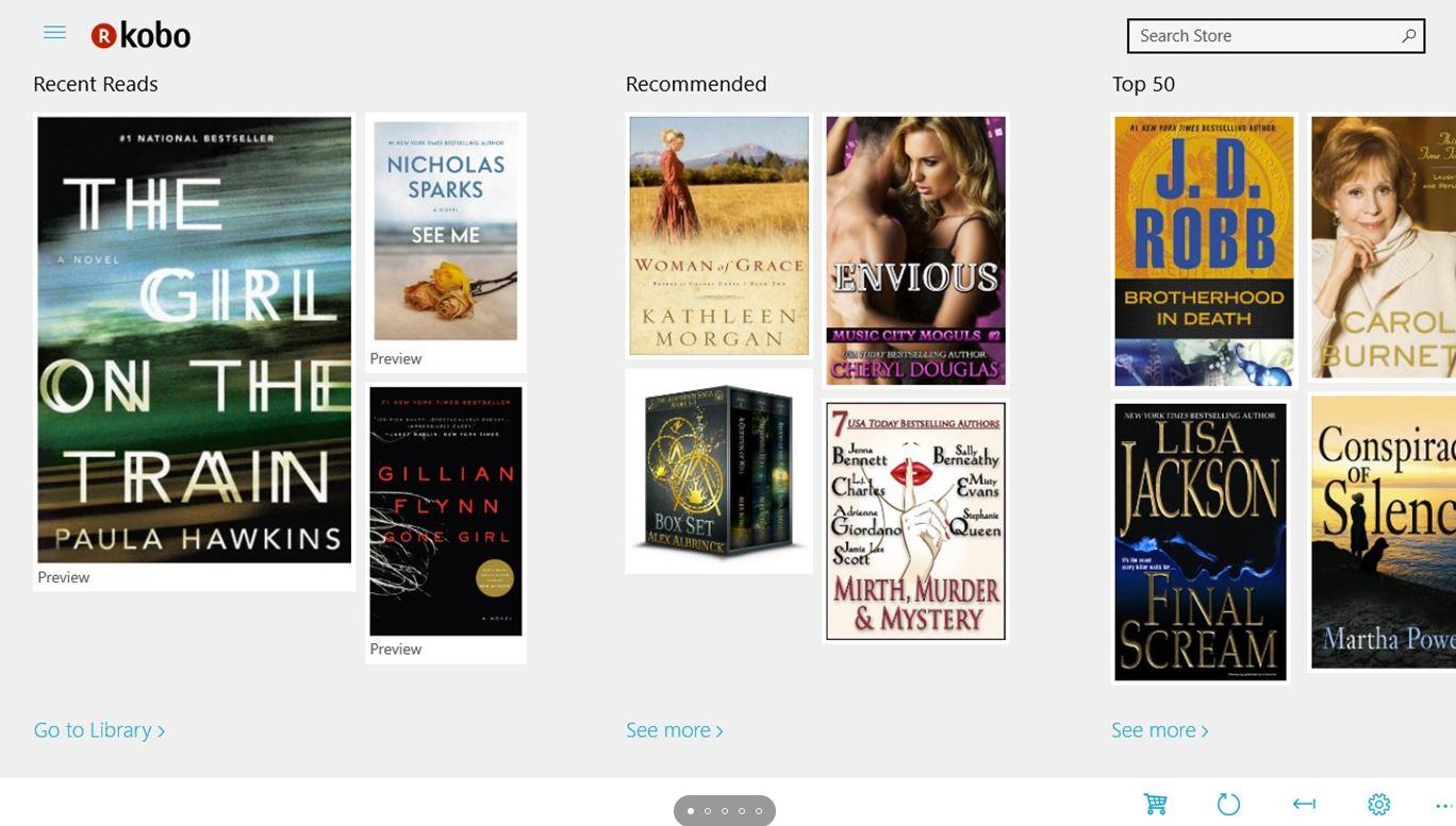 Kobo epub reader and viewer min