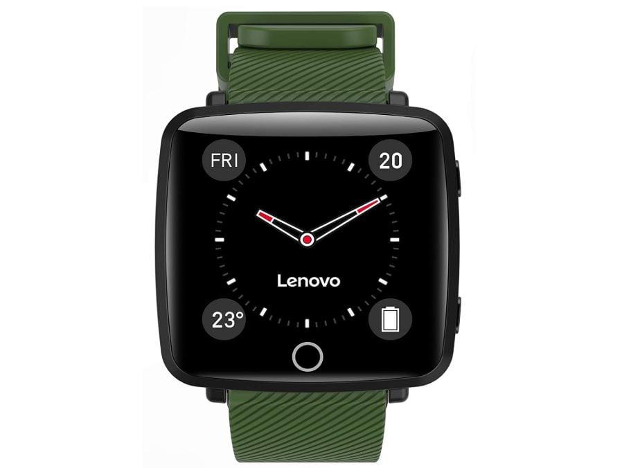 Lenovo Carme HW25P Smartwatch Green min