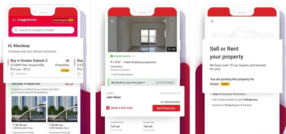 Magicbricks best Property Search app for Android