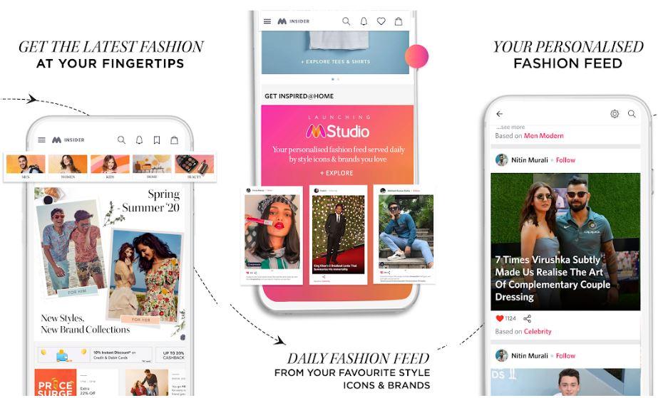 Myntra Online Shopping App Shop Fashion min
