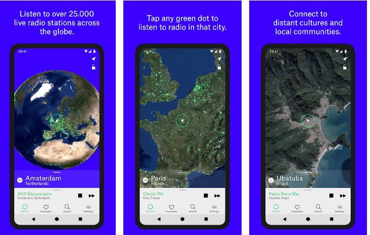 Radio garden best app for android