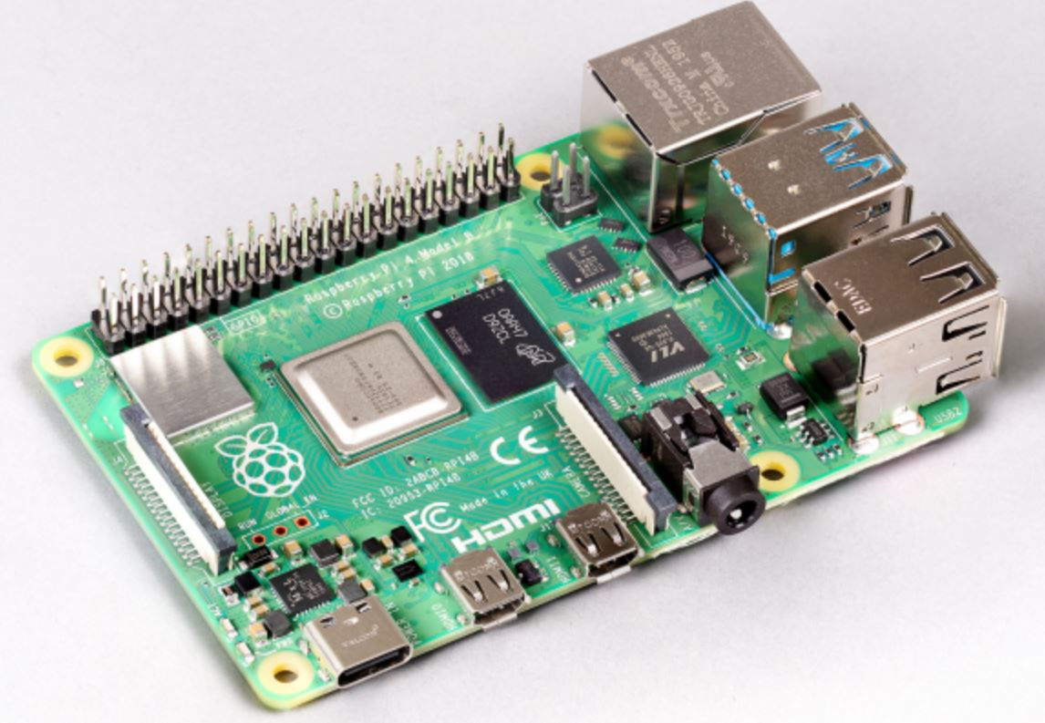 Raspberry Pi 4 Model B with 8 GB RAM