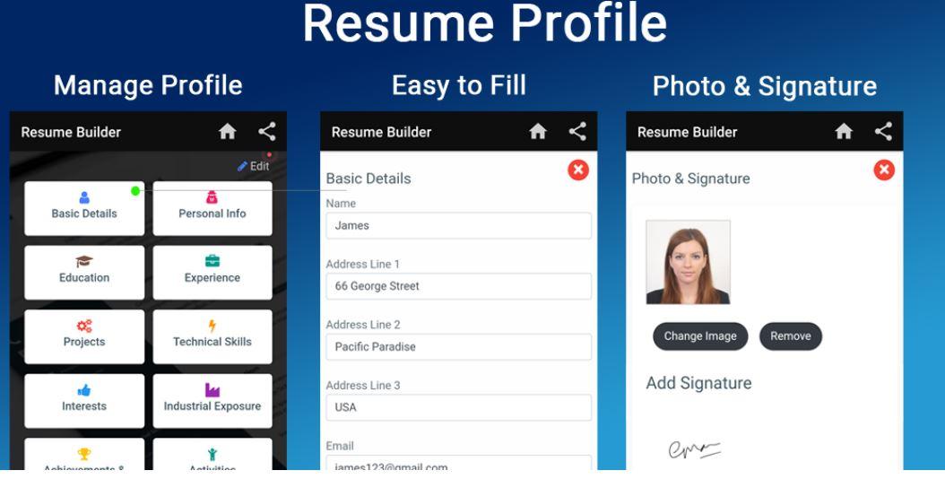 Free BIO DATA maker templates formats app min