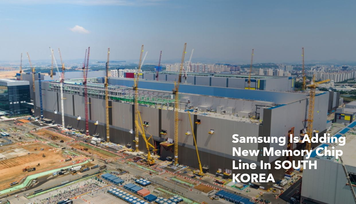 Samsung New Memory Chip Line in South Korea min