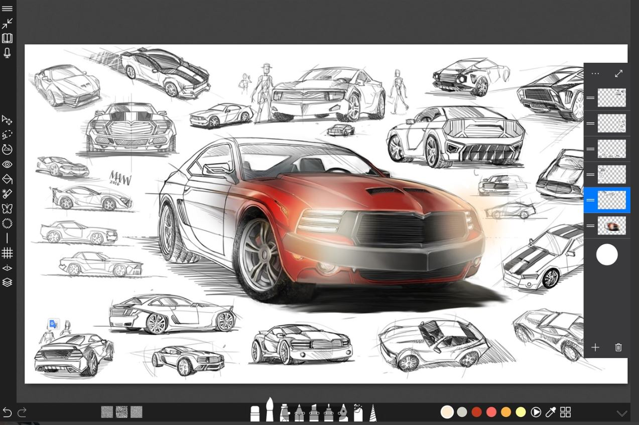Sketchable best free drawing software windows 10 min