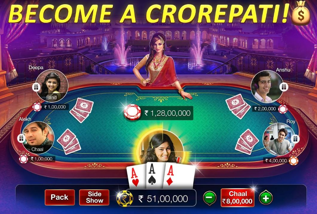 Teen Patti Gold gaming app android and ios