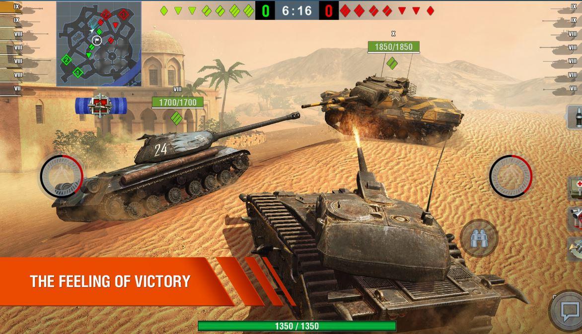 World of Tanks Blitz free steam game min