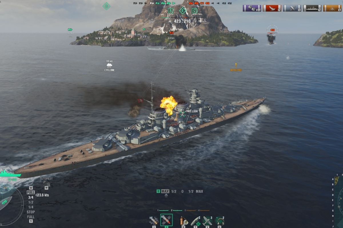 World of Warships min