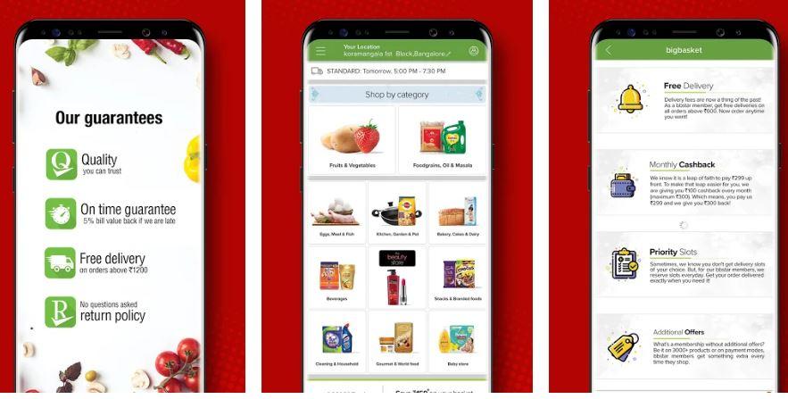 bigbasket Indian Online Grocery Shopping App min