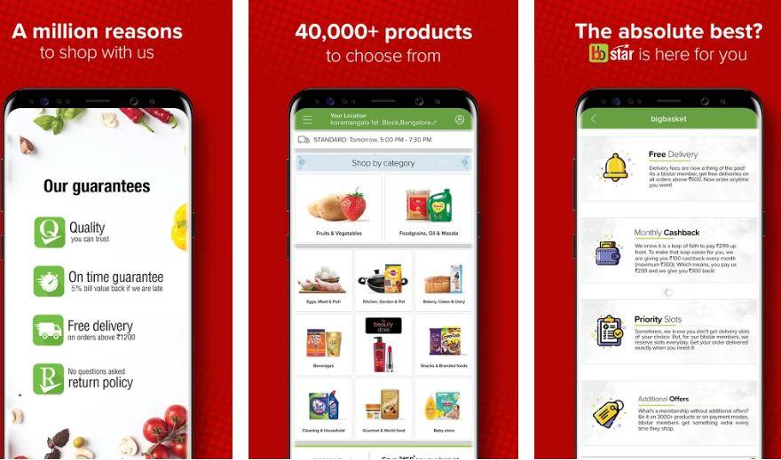 bigbasket most downloaded grocery app in lock down