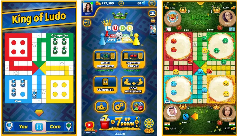ludo king most downloaded game in lock down min