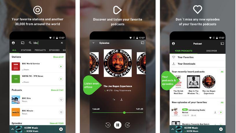 radio.net radio and podcast app