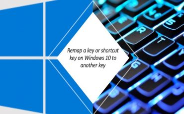 remap a key or shortcut key on Windows 10 to another key or shortcut key min