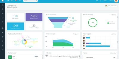 Agile Free CRM for small business